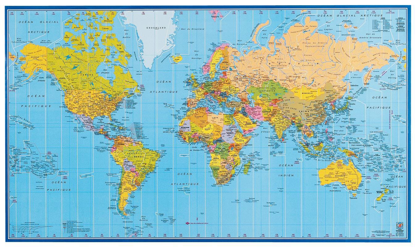 Carte Du Monde Bien Détaillé | tonaartsenfotografie